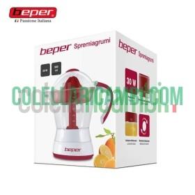 Spremiagrumi Elettrico 500ml Bianco/Rosso Beper