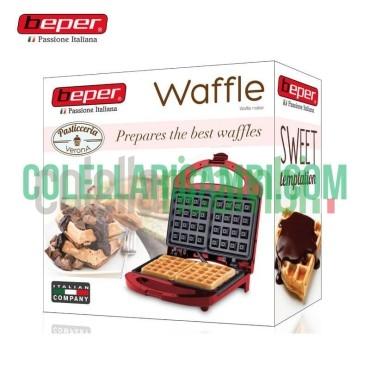 Macchina Piastra in Alluminio per Waffle Beper 90.497R